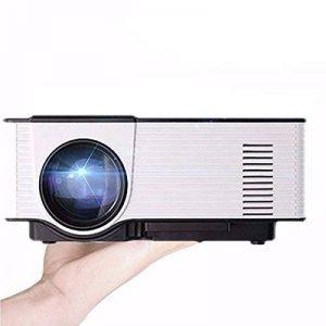 WiFi HD Vidéoprojecteur,ELEGIANT VS319 Vidéoprojecteur LED Andrews 4.4 système Bluetooth intelligente/Built-in sans fil WIFI/Portable Projecteur numérique/Multimédia Home Cinéma/2.0 Support U disque et disque dur USB Mini Projecteur résolution 800 x 480 H image 0 produit