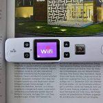WIFI sans fil document Scanner 1050 DPI Scanner portable Scanner de poche Pen JPG de soutien PDF de la marque ESECO image 2 produit