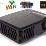 "WIFI Videoprojecteur Full HD 1080P Native Résolution 4500 Lumen 7000:1 Home cinéma Cinema Android TV HDMI 1920 x 1080 Native LCD LED Projecteur Home Cinéma 1080p HD Android Wifi 200 ""Taille de projection grand Vidéo Gaming Movie Fire Stick avec HDMI pour image 1 produit"