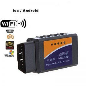 wildlead ELM327 OBDII OBD2 Scanner WIFI Voiture Moteur Diagnostic Testeur Lecteur de Code pour iPhone Android Système de la marque wildlead image 0 produit