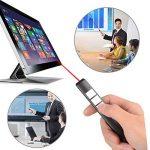 Wireless Presenter,EarthSave RF 2.4GHz Sans Fil Présentateur PowerPoint Télécommande de Présentation Pointeur PPT Controller Pointer Rechargeable de la marque EarthSave image 4 produit
