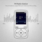 WIWOO 16gb MP3 Lecteur, 1,8 Pouces Portable Lossless MP4 Lecteur de Musique avec Radio/Enregistrement Vocal, Lecteur Audio, y Compris Les écouteurs, Extensible jusqu'à 64gb (Bleu) de la marque wiwoo image 4 produit