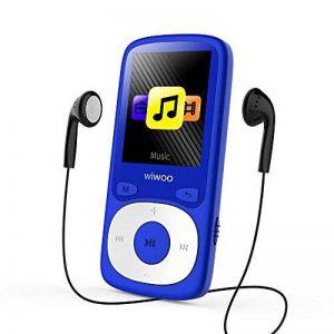 WIWOO 16gb MP3 Lecteur, 1,8 Pouces Portable Lossless MP4 Lecteur de Musique avec Radio/Enregistrement Vocal, Lecteur Audio, y Compris Les écouteurs, Extensible jusqu'à 64gb (Bleu) de la marque wiwoo image 0 produit