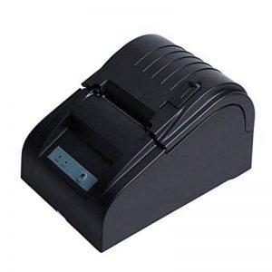 WMicroFR 58mm Imprimante étiquettes code barre USB Mini imprimante portable Noir idéal pour ESC/POS Boutique de la marque WMicroFR image 0 produit