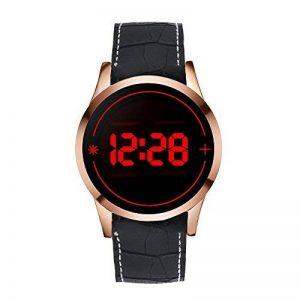 WMWMY Écran Tactile pour Hommes Men's Unisex Watch LED Digital Montre-Bracelet Montre-Bracelet Silicone Sport Watch Date Military Watch de la marque WMWMY image 0 produit