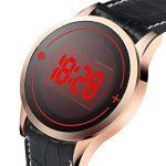WMWMY Écran Tactile pour Hommes Men's Unisex Watch LED Digital Montre-Bracelet Montre-Bracelet Silicone Sport Watch Date Military Watch de la marque WMWMY image 1 produit