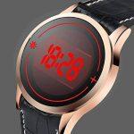 WMWMY Écran Tactile pour Hommes Men's Unisex Watch LED Digital Montre-Bracelet Montre-Bracelet Silicone Sport Watch Date Military Watch de la marque WMWMY image 2 produit