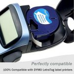 Wonfoucs 5 Rubans Compatible pour Dymo LetraTag 91201 91202 91203 91204 91205 Plastique Étiquettes, 12mm x 4m, Noir sur Blanc/Rouge/Jaune/Bleu/Vert Cassettes pour LT-110T LT-100H QX 50 XR XM de la marque Wonfoucs image 1 produit
