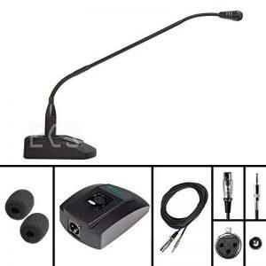 Wordsentry Professional col de cygne 3.5mm microphone de conférence de la marque Executive Communication Systems image 0 produit