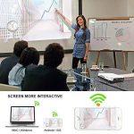 WOWOTO Vidéoprojecteur, 2000Lumen 1280x800 résolution HD Projecteur, Android 4.4, LED projecteurDLP avec Correction du trapeze, HDMI, Wi-Fi et Bluetooth de la marque WOWOTO image 2 produit