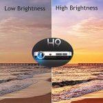 WOWOTO Vidéo Projecteur, 3500Lumens 1280x800 résolution HD vidéoprojecteur, Android 4.4, LED projecteur avec Correction du trapeze, HDMI, Wi-Fi et Bluetooth (H9, Blanc) de la marque WOWOTO image 4 produit