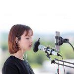 XIAOKOA Profession Microphone PC, Microphone Condensateur pour Ordinateur, Microphone Enregistreur pour Téléphone, Ordinateur, Ipad, Podcasting, Chat en Ligne tel Que Facebook, MSN, Skype (M30-white) de la marque XIAOKOA image 4 produit