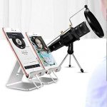 XIAOKOA Profession Microphone PC, Microphone Condensateur pour ordinateur, Microphone Enregistreur pour Téléphone, Ordinateur, Ipad, Podcasting, Chat en ligne tel que Facebook, MSN, Skype (M12-uk) de la marque XIAOKOA image 1 produit