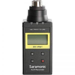 XLR audio recorder, Enregistreur vocal numérique PCM Saramonic SR-VRM1 avec grand écran LCD et sortie casque 3,5 mm pour les microphones XLR de la marque Saramonic image 0 produit