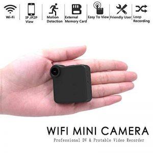 YAMEIJIA C1 Mini Web Caméra Cachée, WiFi Vidéo Magnétophone Multi Portable Full HD 1080 P H.264 Micro DVR Action Détection De Mouvement WiFi Flexible Motion Détection Caméra de la marque YAMEIJIA image 0 produit