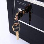 Yamyannie Boîtier en acier noir antivol électronique verrouillage mot de passe clé armoire sécurité coffre-fort boîte de dépôt numérique de la marque Yamyannie image 1 produit