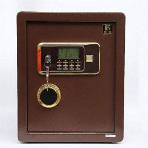 Yamyannie Bureau à domicile en acier antivol électronique verrouillage mot de passe clé Cabinet sécurité coffre-fort boîte de dépôt numérique de la marque Yamyannie image 0 produit