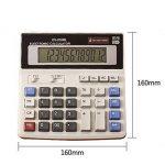 YEBMoo grande calculatrice calculatrice électronique compteur solaire et batterie affichage à 12 chiffres multifonction gros bouton calcul d'école de bureau d'affaires de la marque YEBMoo image 1 produit