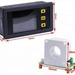 Yeeco Digital DC Voltmètre Ampèremètre multimètre, écran LCD couleur de 10–90V 0–100A Tension ampere Power Watt Coulomb Capacité temps au mètre testeur de détecteur de tests avec capteur Hall de la marque Yeeco image 4 produit