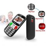 YINGTAI Telephone Portable Mobile Senior Grosse Touches et Bouton SOS (Noir) de la marque YINGTAI image 2 produit