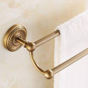 Yomiokla Accessoires de salle de bain - Cuisine, toilettes, balcon et salle de bain anneau de serviette en métalCuivre-cuivre barres de serviette de bain d'un antique continental auto-produit un code pin de la marque Yomiokla image 0 produit