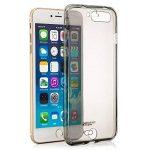 Zanasta Designs iPhone 6 / 6S Coque Silicone Clair Case Ultra Mince Premium Soft Flexible TPU Cover Housse Etui Protection Recto-Verso, Transparent Gris de la marque Zanasta Designs image 2 produit