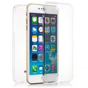 Zanasta Designs iPhone 7 Plus Coque Silicone Clair Case Ultra Mince Premium Soft Flexible TPU Cover Housse Etui Protection Recto-Verso, Transparent de la marque Zanasta Designs image 0 produit