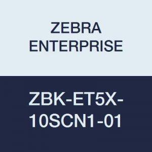 Zebra Enterprise Zbk-et5X -10scn1–01Tablette Windows d'extension Dos, accessoire avec insert Dummy Dragonne rotatif et de la marque Zebra Enterprise image 0 produit