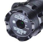 ZENHOX Antichoc 532nm Tactique Lampe de Poche Vert Dot Sight Dot Scope image 1 produit