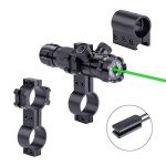 ZENHOX Antichoc 532nm Tactique Lampe de Poche Vert Dot Sight Dot Scope image 3 produit