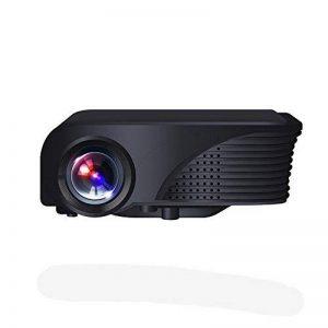 Zhanghaidong Home Cinéma Projecteur LED Pico LCD Rétroprojecteur 1800 Lumens Noir Mini Portable Projecteur USB Vidéo Multimédia 1080P TV Console De Jeu de la marque Zhanghaidong image 0 produit