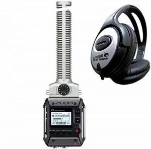 Zoom F1-SP Field Enregistreur avec microphone directionnel + Casque Keepdrum de la marque Zoom Audio image 0 produit