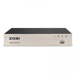 ZOSI 8CH 720P HDMI TVI DVR Enregistreur Vidéo Numérique - Code QR pour Smartphone - Détection de Mouvement et Alerte par Email -CCTV Système de Surveillance de la marque ZOSI image 0 produit