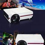 ZYWX Home HD Projecteur Bureau Entertainment KTV Shadow Bar Android Smart WiFi Projecteur Blanc Support HDMI USB VGA AV Audio Output RCA Haut-Parleur Intégré de la marque ZYWX image 1 produit