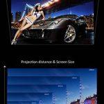 ZYWX Home HD Projecteur Bureau Entertainment KTV Shadow Bar Android Smart WiFi Projecteur Blanc Support HDMI USB VGA AV Audio Output RCA Haut-Parleur Intégré de la marque ZYWX image 3 produit